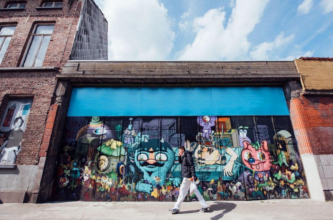 street art gand belgique