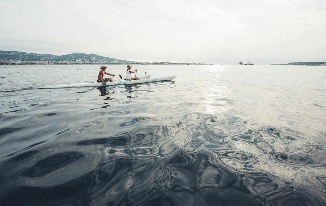 pirogue tahitienne cannes