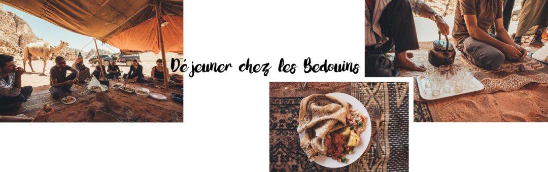 manger chez les bedoins en jordanie