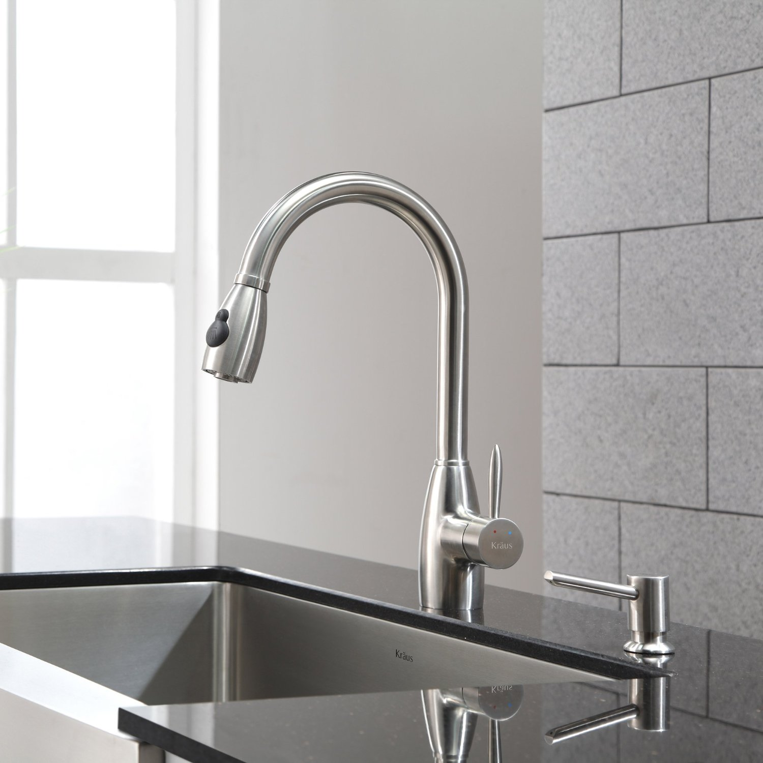kraus kpf single lever pull kitchen faucet reviews grohe kitchen faucet