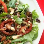 Summer Salad with Heirloom Tomatoes