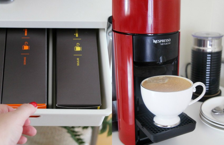 nespresso evoluo enjoy the perfect coffee crema at home. Black Bedroom Furniture Sets. Home Design Ideas