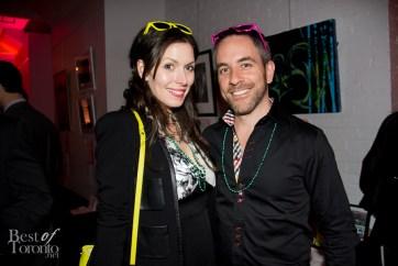 left: Lauren Hammersley (from CBC's Mr. D)