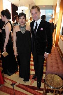 Patricia Barretto (Opera Atelier Executive Director), Seamus O'Regan Photo: Tom Sandler