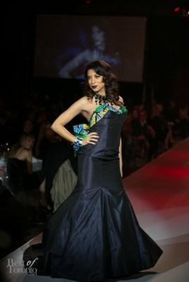 Aliya-Jasmine Sovani wearing Ines Di Santo