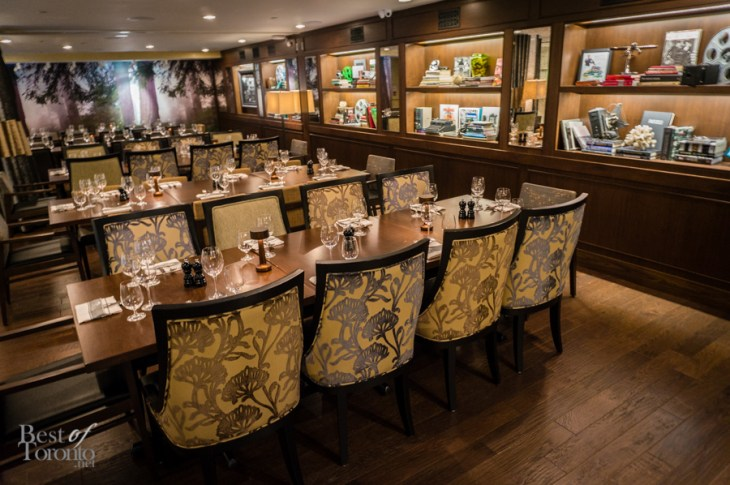 Portfolio photos of montecito restaurant best of toronto for Best restaurants with private dining rooms toronto