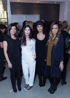 Paria Shirvani, Jess Gordon, Renatah Kevah, Candice Chan