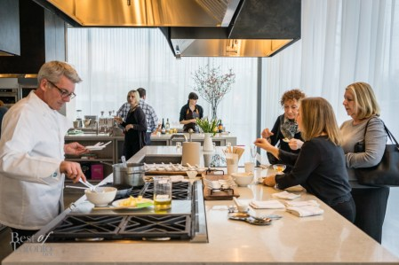 Right: Esther Benaim   Great Cooks on Eight