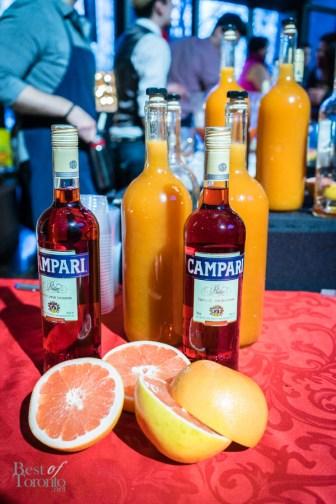 Campari used for Dan Tavares' Maria dd Milano cocktail