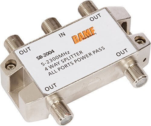 Cable Splitter Internet And Tv : Best cable splitter for internet and tv