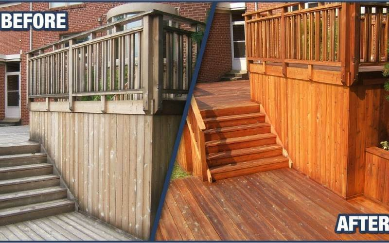 best wood deck stain and sealer reviews
