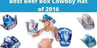 Best Beer Box Cowboy Hat of 2016