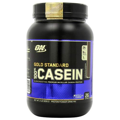 Optimum Nutrition  Casein Protein Chocolate Supreme  Pound