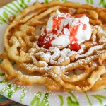 Tasty funnel cake