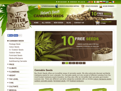 Buy Dutch Seeds Review