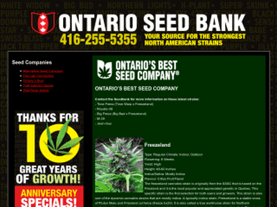 Ontario Seed Bank Review