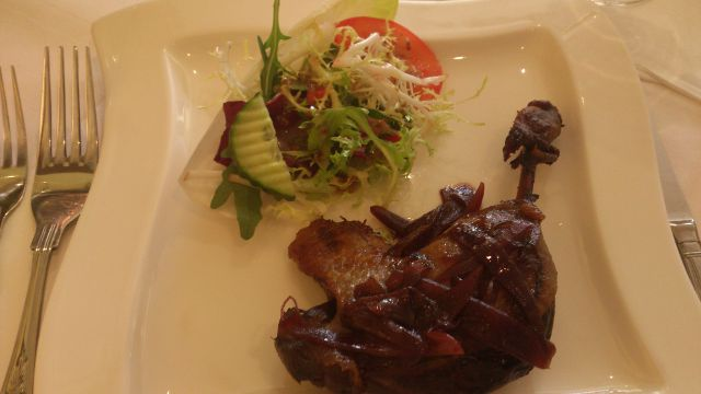 The Bakery, Tatsfield - Duck Leg Starter