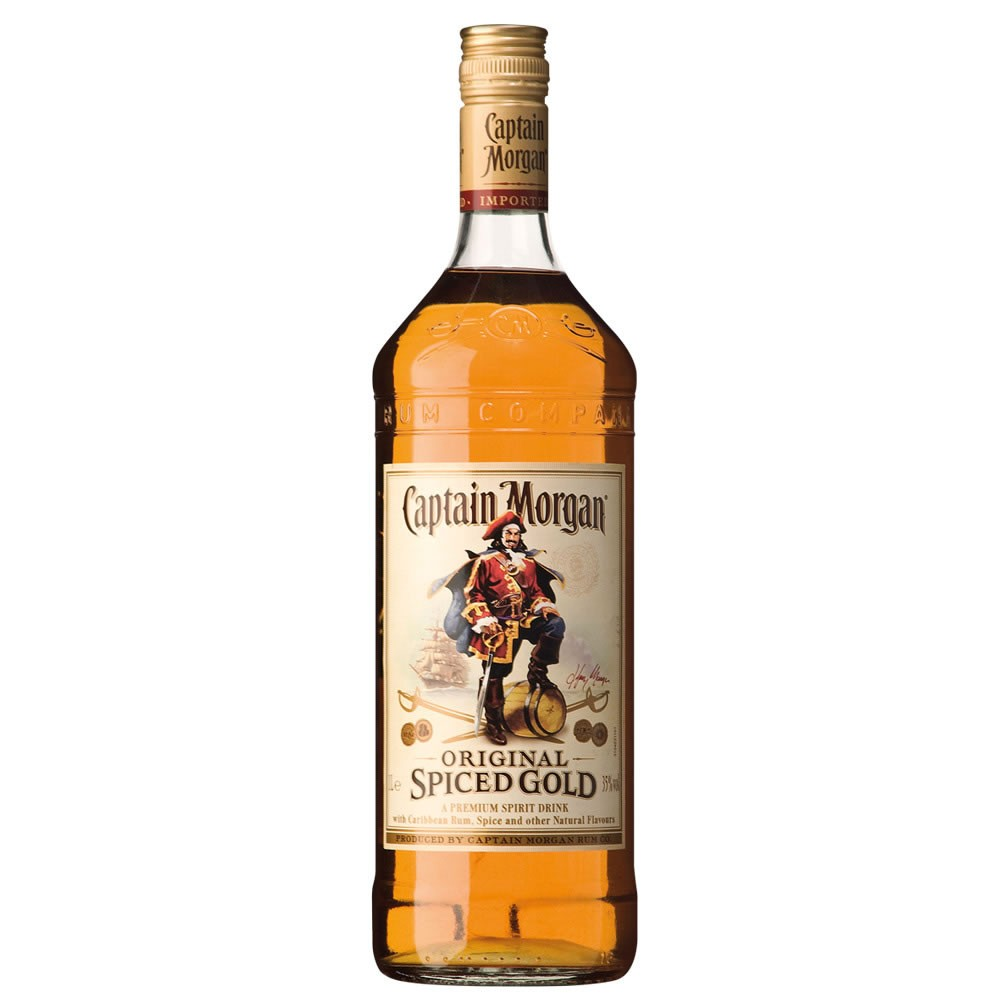 Review captain morgan original spiced rum best tasting for Mix spiced rum with