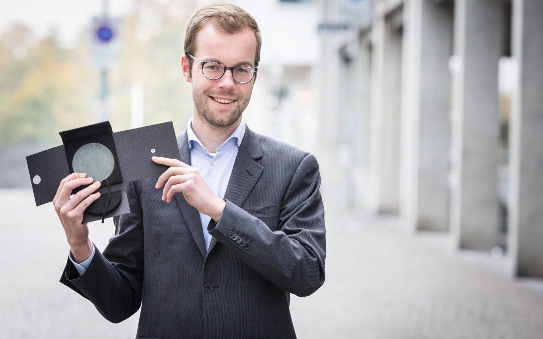 Jeroen Candel ontvangt de Van Poeljeprijs 2016