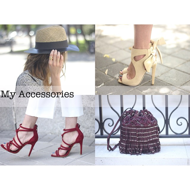 Some of My Accessories accessories heels hat sandals zara uterqehellip