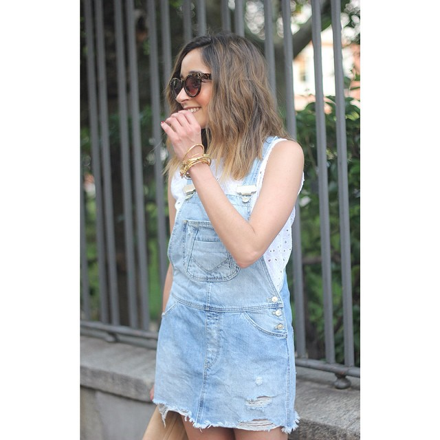 Denim Dungarees denim dungarees summer outfit ootd outfitoftheday style fashionhellip