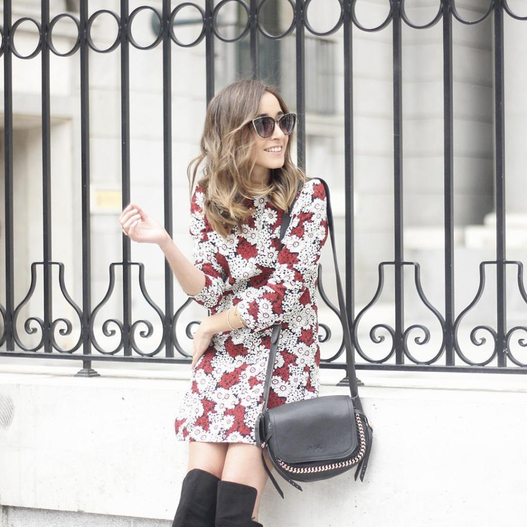 Nuevo post en el blog con vestido con estampado floralhellip
