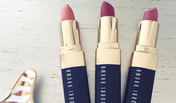 bobbi brown lipstick trio