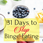 31 Days to Stop Binge-Eating, BethanyJett.com