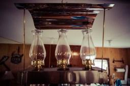 Amish tripple burner lantern