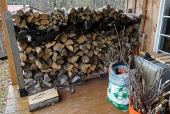 Wood Stacked and ready
