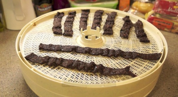 Maple Whiskey Venison Jerky
