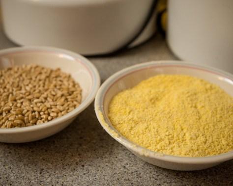 Cornmeal ready