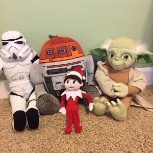 Silverbells with the cast of Star Wars
