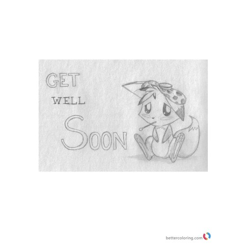 Medium Crop Of Get Well Soon Cute