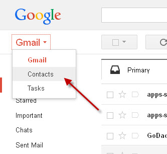 how to delete contact list from gmail