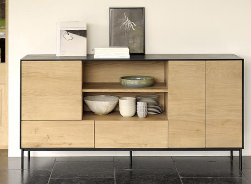 Oak Blackbird Sideboard Tall
