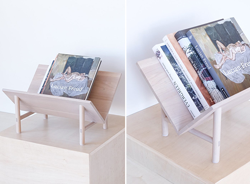 White Oak Rise Bookstand