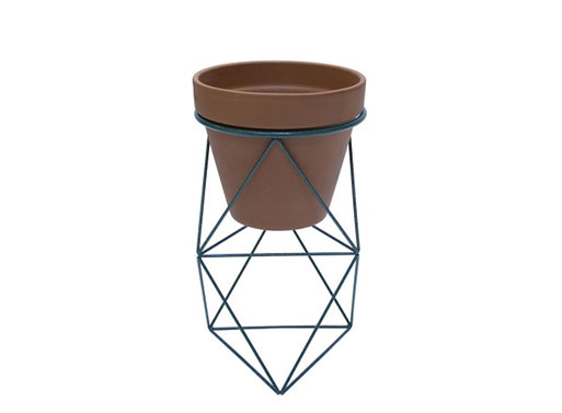 Double Octahedron Ring Planter