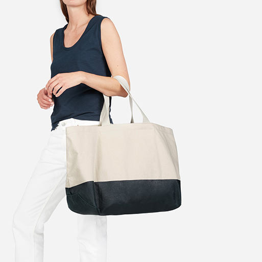 Everlane Beach Canvas Tote