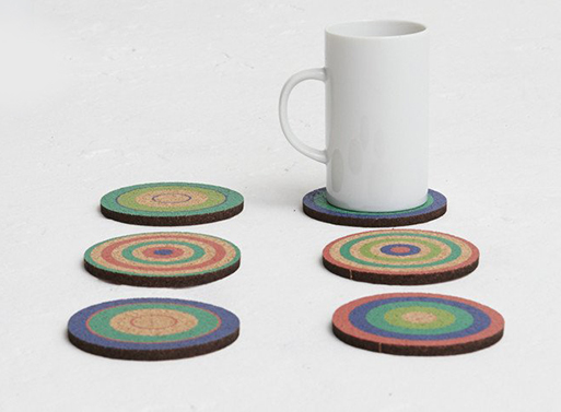 Fredericks and Mae Cork Coasters