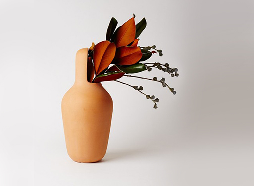 Gardenias Vase Narrow Mouth by Jaime Hayon