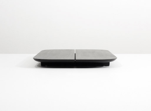 Grain Plank Tray Black