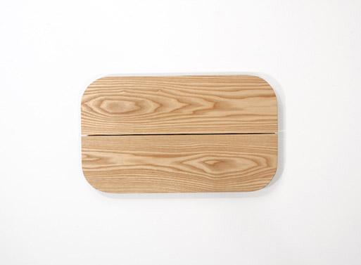 Grain Plank Tray Natural