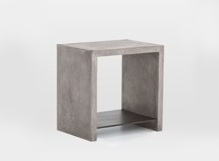 Industrial-concrete-side-table