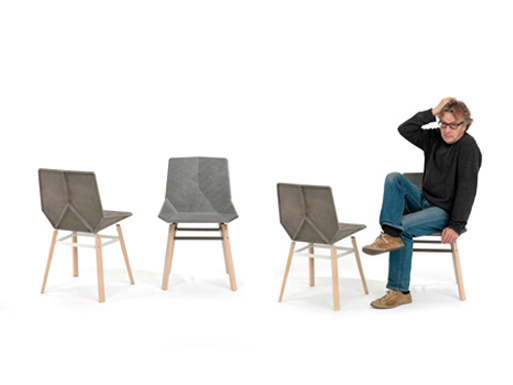 Green chair by javier mariscal dining and side chairs for Javier mariscal design