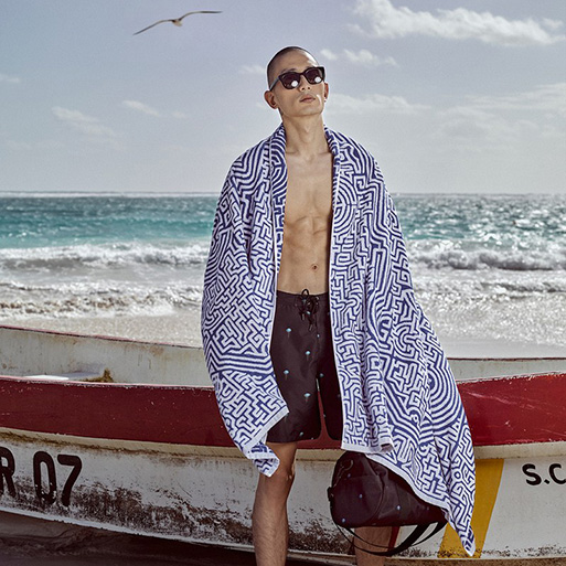 Moroccan Beach Towel by John Elliott