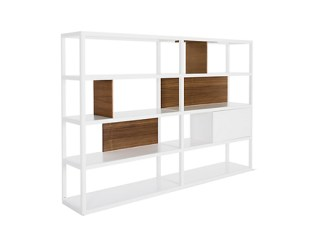 Kai-Wide-Shelving-White