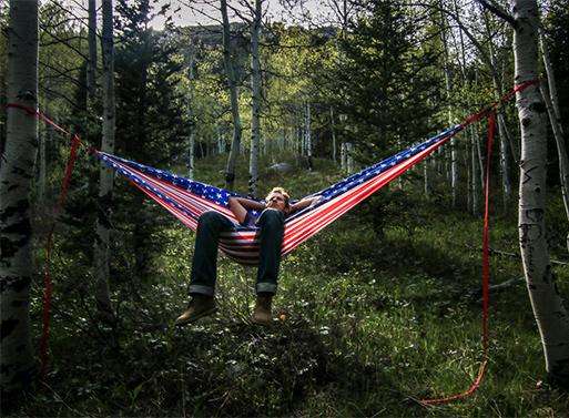 Litho Hammock, American Pride