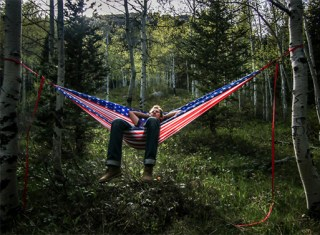 Litho-Hammock-American-Flag