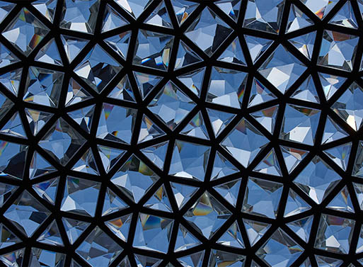 Samuel Wilkinson's Ommatidium Sculpture